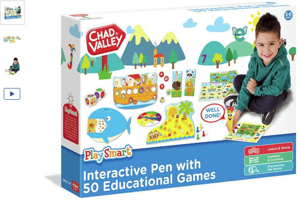 Chad Valley Smart Interactive Learning Set