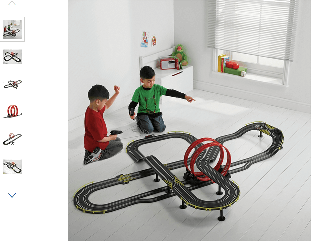 Chad Valley Super Loop Speedway Track Playset
