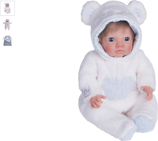 chad valley tiny treasures bear cosy outfit