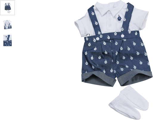 chad valley tiny treasures boy special occ outfit