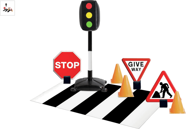 Chad Valley Traffic Signs Set