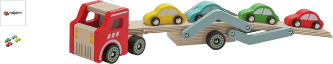 Chad Valley Wood Shed Car Transporter