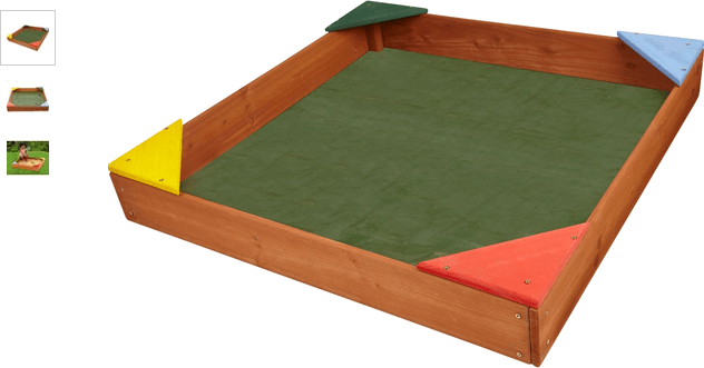 Chad Valley Wooden Sandpit