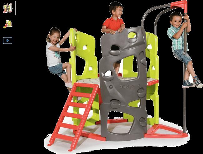 smoby climbing tower