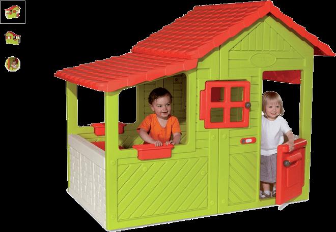 smoby floralie playhouse