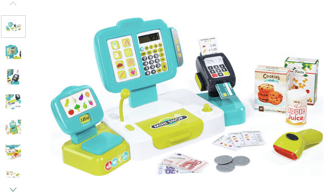 smoby large cash register