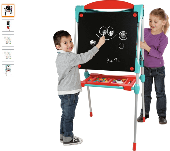 smoby ultimate drawing board - blue