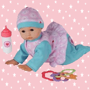 Chad Valley Babies To Love Crawling Doll