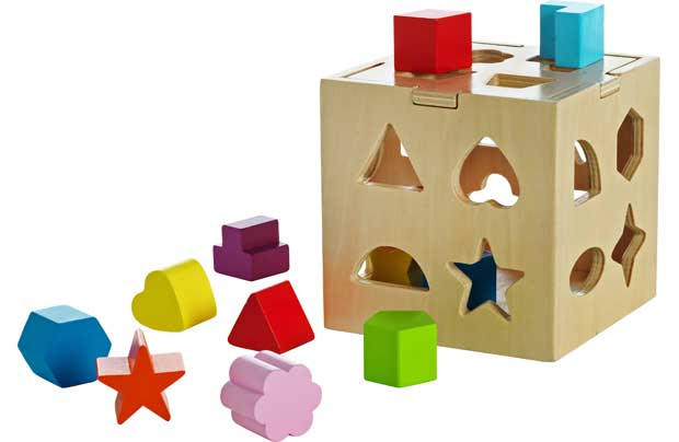 /pre-school/chad-valley-playsmart-wooden-shape-sorter