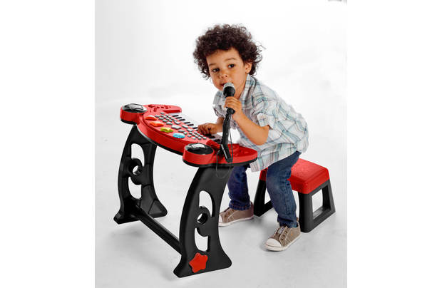 /making-music/chad-valley-sing-along-keyboard-stand-and-stool-red