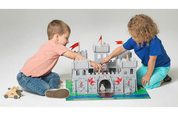 /pre-school/chad-valley-wooden-castle-with-accessories