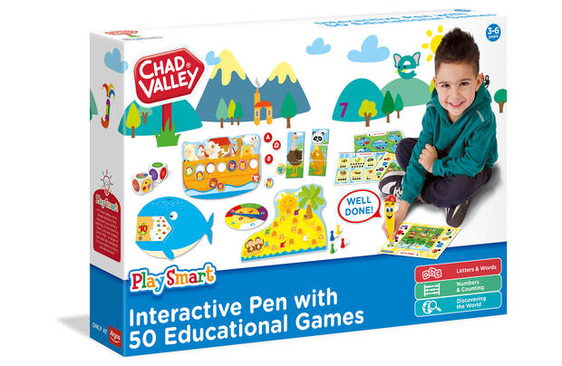 /pre-school/chad-valley-smart-interactive-learning-set