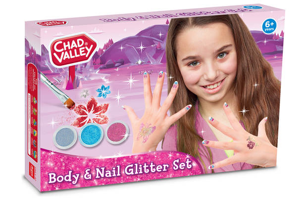 /tween-roleplay/chad-valley-style-body-and-nail-glitter-set