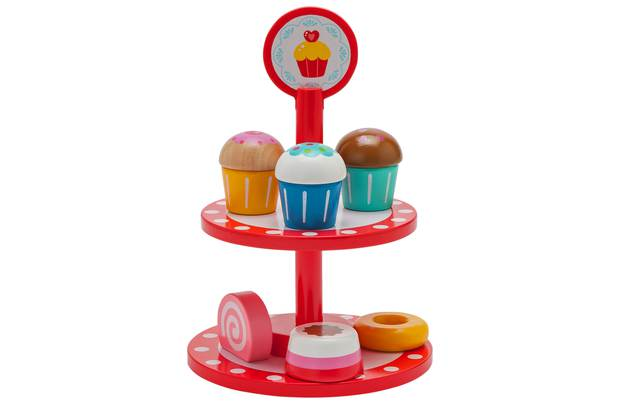 /wooden-toys/chad-valley-wooden-cake-stand-red