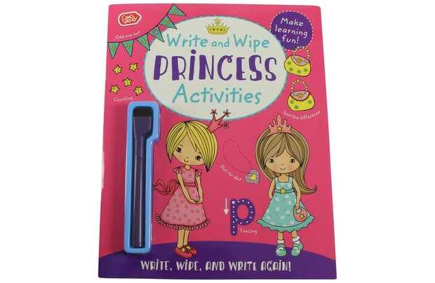 /pre-school/chad-valley-princess-write-and-puzzle-book