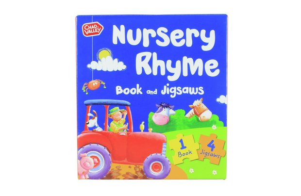 /pre-school/chad-valley-nursery-rhyme-book-and-jigsaw