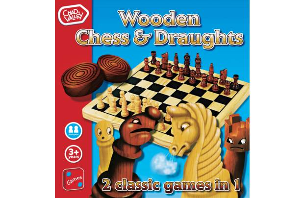 /let-s-pretend/chad-valley-wooden-chess-and-draughts-board-game