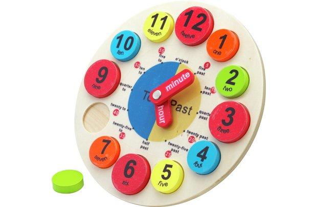 /pre-school/chad-valley-playsmart-wooden-clock