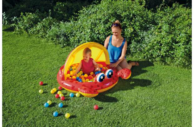 /outdoor-toys/chad-valley-crab-baby-pool-and-ball-pit