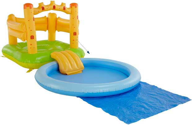 /outdoor-toys/chad-valley-castle-bouncer-ball-pit-and-pool