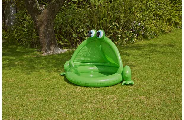 /outdoor-toys/chad-valley-frog-baby-pool-and-ball-pit