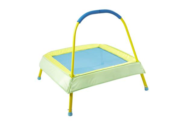 /outdoor-toys/chad-valley-green-junior-trampoline-with-handle