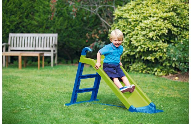 /outdoor-toys/chad-valley-junior-slide-green