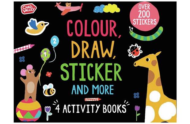 /pre-school/chad-valley-colour-draw-and-stick-activity-pack