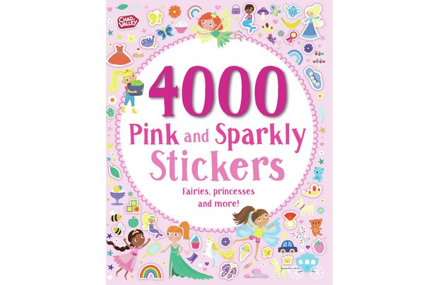 /pre-school/chad-valley-pink-and-sparkley-4000-sticker-book
