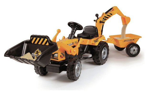 /wheeled-toys/smoby-tractor-and-trailor