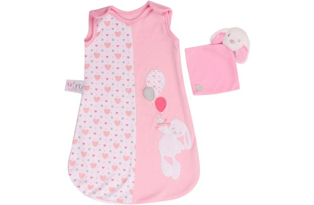 /tiny-treasures/chad-valley-tiny-treasures-sleeping-bag-and-bunny-comfort-toy