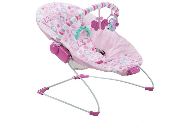 /baby/chad-valley-friends-deluxe-bouncer-pink