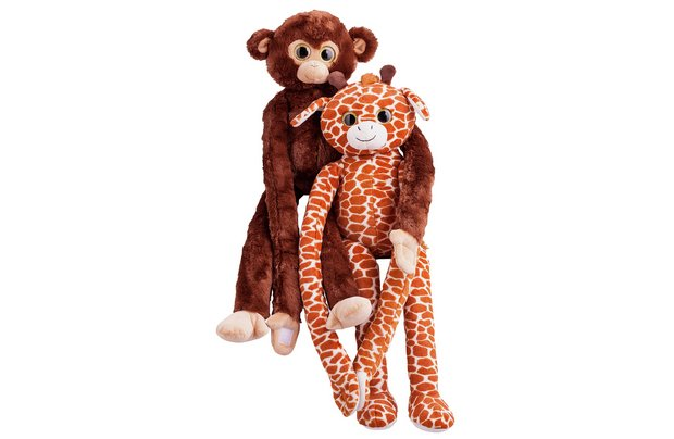 /fluffy-friends/chad-valley-monkey-and-giraffe-assortment