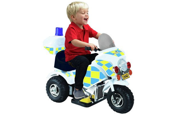 /wheeled-toys/chad-valley-6v-powered-ride-on-police-bike