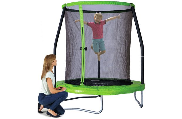 /outdoor-toys/chad-valley-6ft-trampoline-with-folding-enclosure