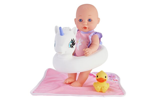 /babies-to-love/chad-valley-babies-to-love-unicorn-bath-set