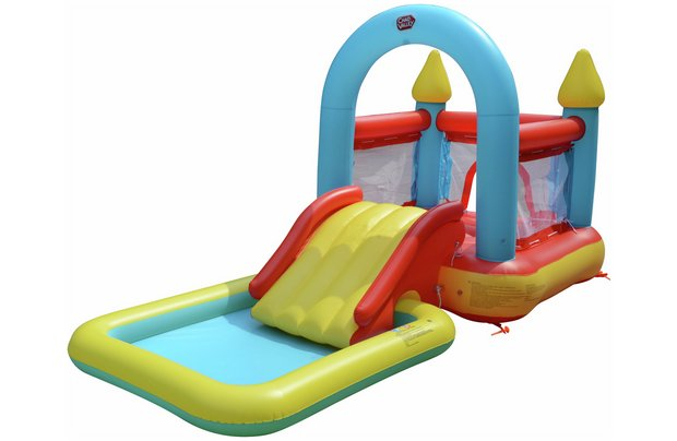 /outdoor-toys/chad-valley-bouncy-castle-and-pool-9ft-10in-90-litres