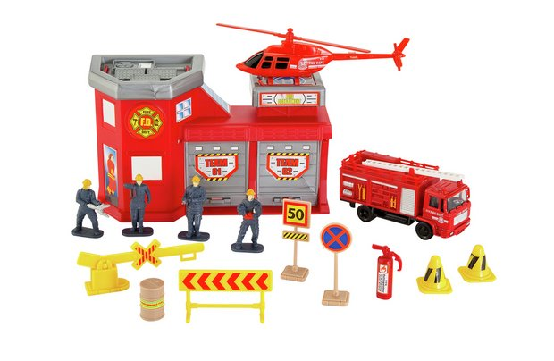/vehicle-city/chad-valley-city-fire-station-playset