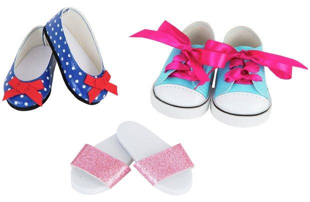 /designafriend/chad-valley-designafriend-3-pack-shoe-set
