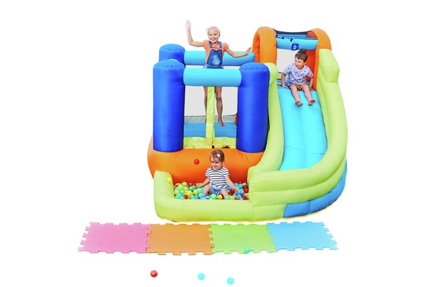 /outdoor-toys/chad-valley-inflatable-funhouse-with-slide