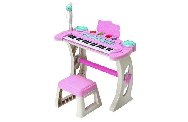 /making-music/chad-valley-keyboard-stand-and-stool-pink