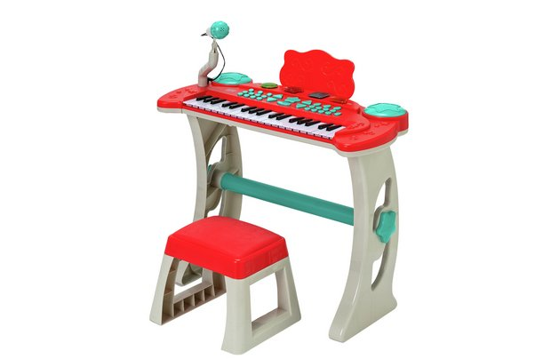 /making-music/chad-valley-keyboard-stand-and-stool-red
