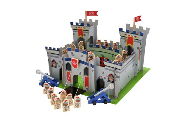 /wooden-toys/chad-valley-knights-wooden-castle