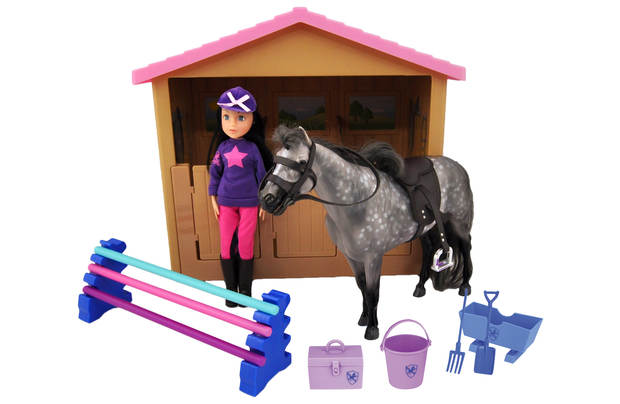 /let-s-pretend/chad-valley-pony-parade-stables-horse-bumper-set