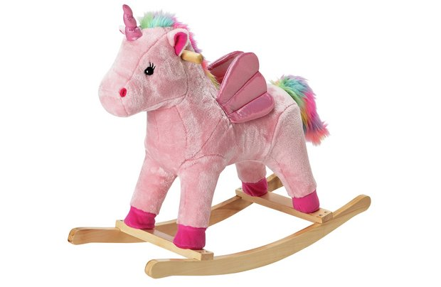 /baby/chad-valley-rainbow-rocking-unicorn