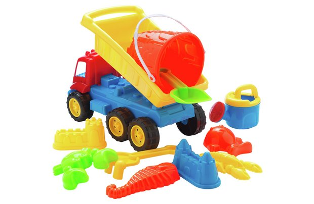 /outdoor-toys/chad-valley-sand-truck-and-tools-set