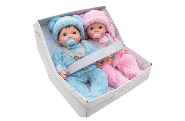 /tiny-treasures/chad-valley-tiny-treasures-twin-fluffy-bumper-set