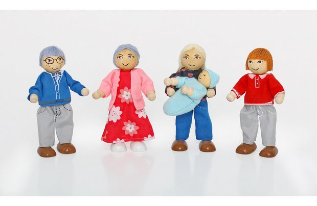 /wooden-toys/chad-valley-wooden-dolls-house-family-set