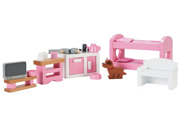 /dolls-dollhouses/chad-valley-wooden-dolls-house-furniture-set