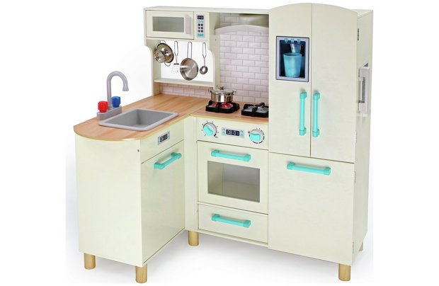 /wooden-toys/chad-valley-wooden-kitchen-with-breakfast-bar